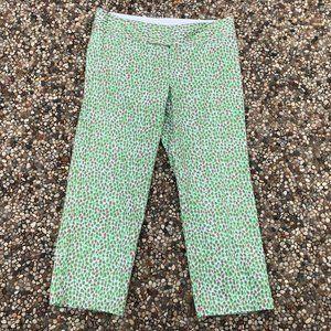 Lilly Pulitzer Bailey Capri Pants Animal Print